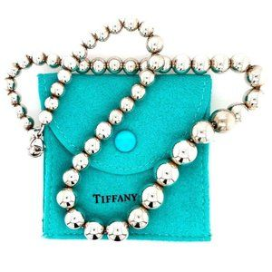 T&Co. Graduated Ball Necklace